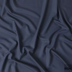Light royal blue plain Super 130's Wool and Cashmere suiting fabric