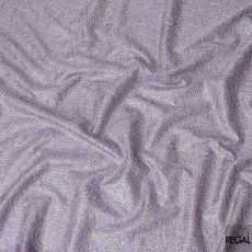 Lavender tussar silk fabric with off white embroidery in fancy design-D6438