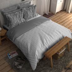 King Size - Super soft 100% cotton digitally printed bedsheet with 2 pillow cases  - 2910351