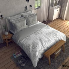 King Size - Super soft 100% cotton digitally printed bedsheet with 2 pillow cases  - 2910571
