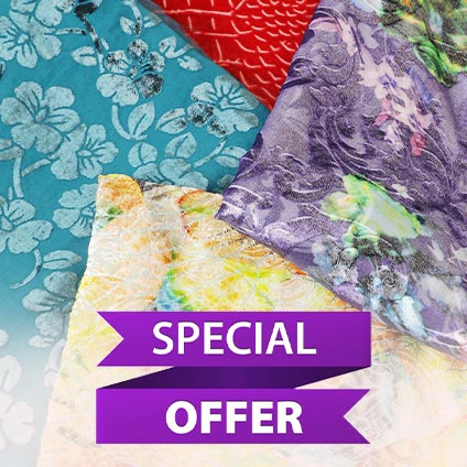 Highly discounted fabrics online